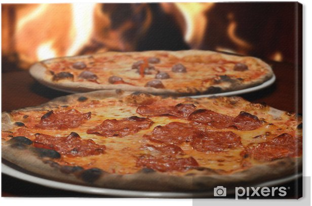 pizza italian restaurant Canvas Print - Rice