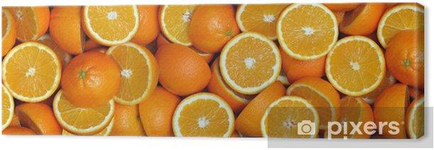 Pomarańcze-połówki 2 Canvas Print - Destinations