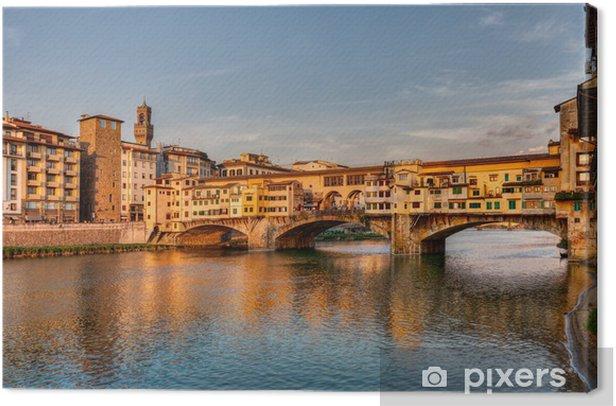 Ponte Vecchio, Florence, Italy Canvas Print - Themes