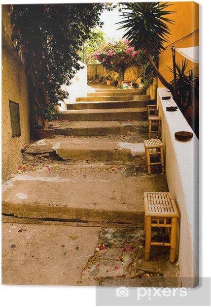 Porto Azzurro Canvas Print - Europe