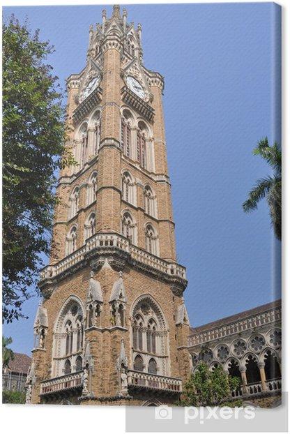 Rajabai Clock Tower, Mumbai Canvas Print - Asia