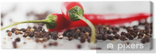 Red chilli pepper Canvas Print - iStaging