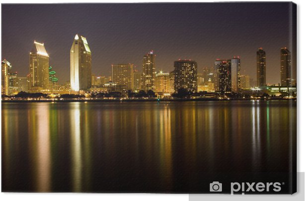 Reflections of San Diego Canvas Print - America