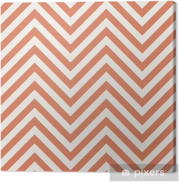 retro fabric seamless pattern Canvas Print - Backgrounds
