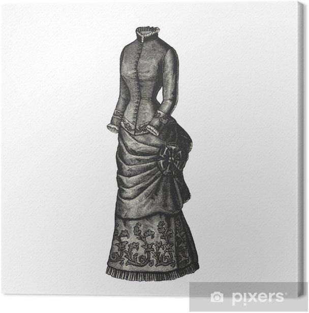 Robe Canvas Print - Fashion