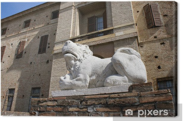 rocca di soragna Canvas Print - Monuments