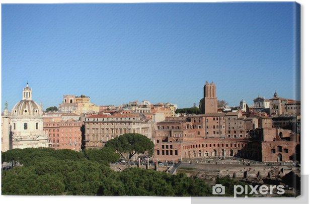 Roma - Forum Imperiali Canvas Print - European Cities