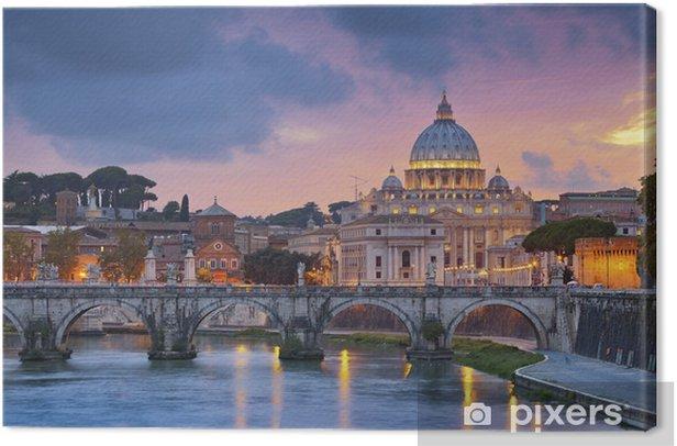 Rome. Canvas Print - Themes