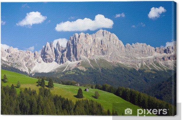 Rosengarten, Südtirol Canvas Print - Outdoor Sports
