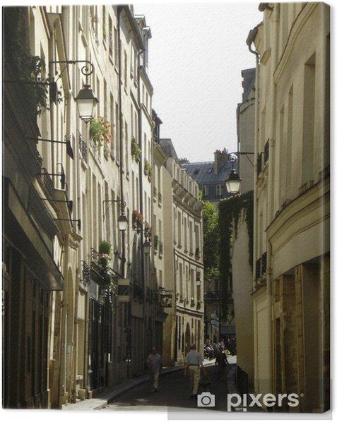 rue de bievre Canvas Print - Infrastructure