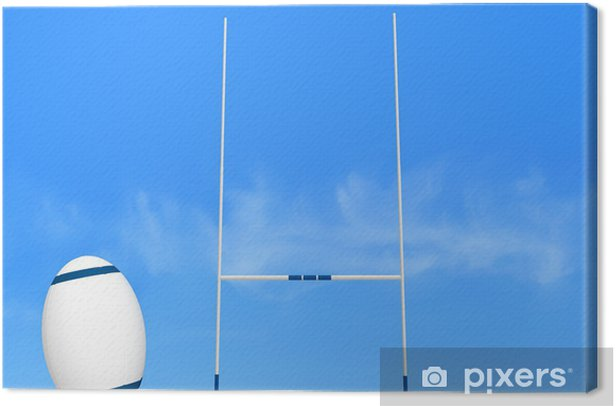 rugby conversion Canvas Print - Rugby
