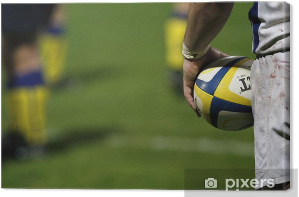 Rugby Canvas Print - Rugby