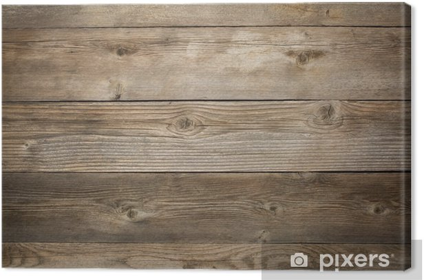 rustic weathered wood background Canvas Print - Themes