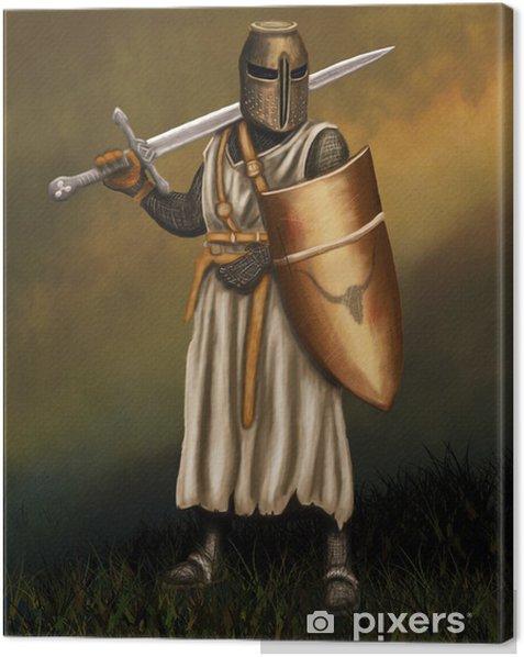 Rycerz Canvas Print - Knights