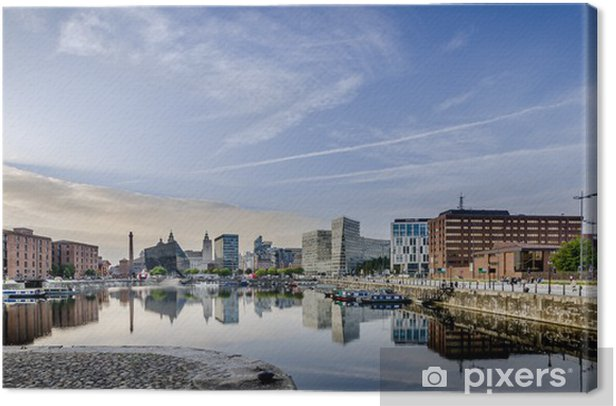 Salthouse Dock Liverpool Canvas Print - Europe
