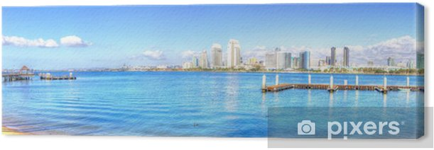 San Diego downtown,California Canvas Print - America
