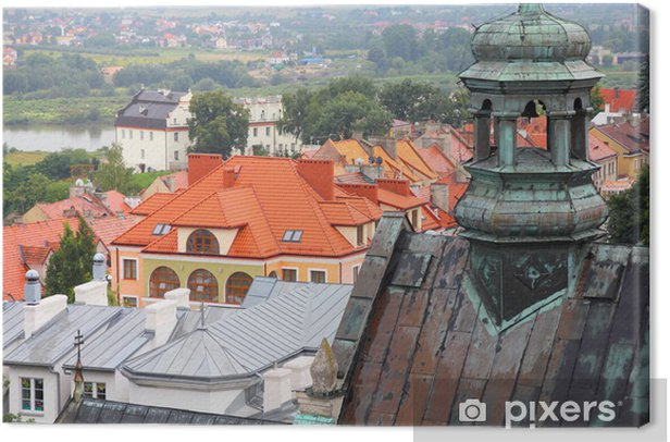 Sandomierz, Poland Canvas Print - Europe