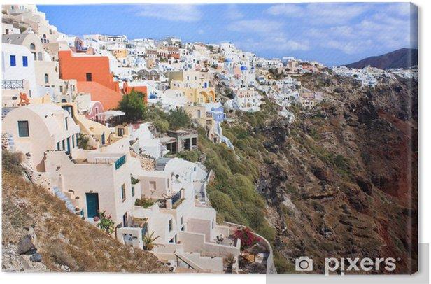 Santorini landscape Canvas Print - Europe