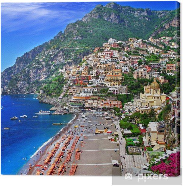 scenic Italy - Positano Canvas Print - Themes
