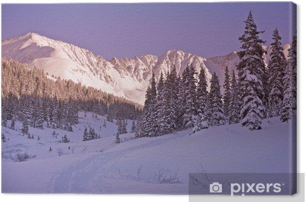 Scenic Winter Colorado Canvas Print - America