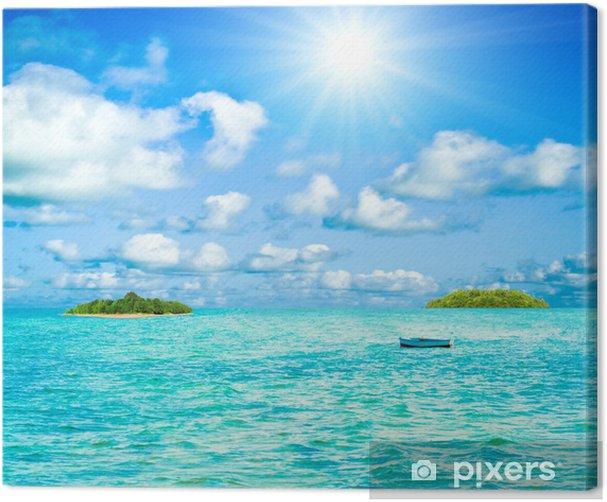 sea landscape Canvas Print - Water