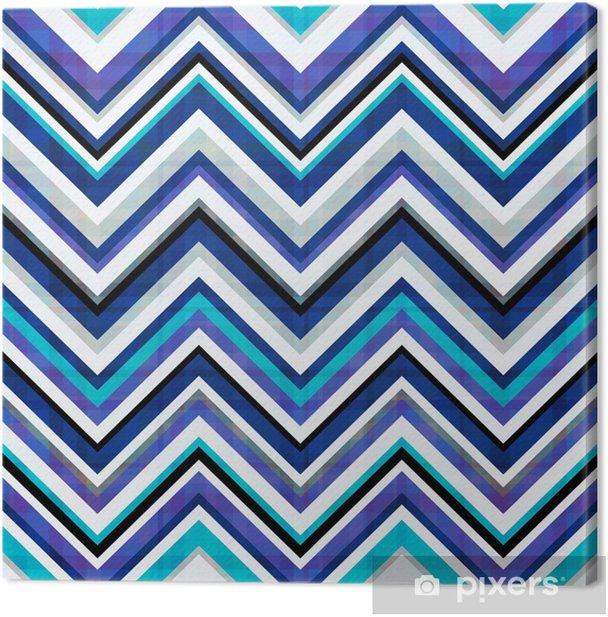 seamless chevron pattern Canvas Print - Backgrounds