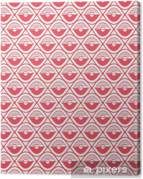 seamless geometric pattern Canvas Print - Graphic Resources