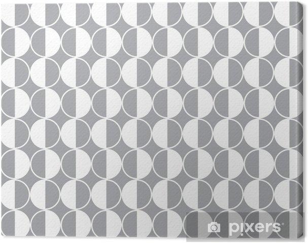 Seamless geometric vector pattern background Canvas Print - Finance