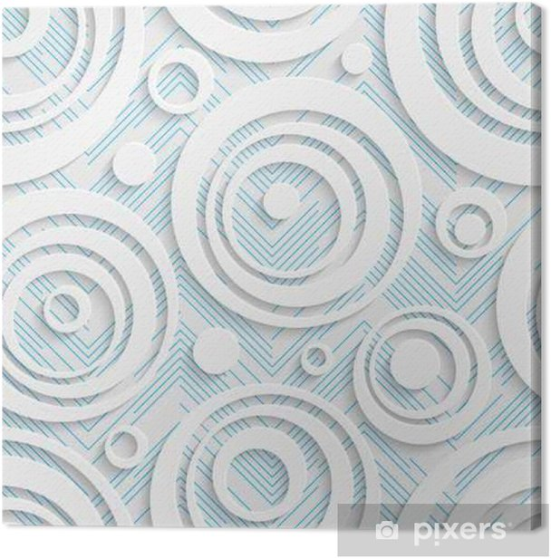 Seamless Origami Pattern 3d Modern Lattice Background Canvas Print Pixers We Live To Change