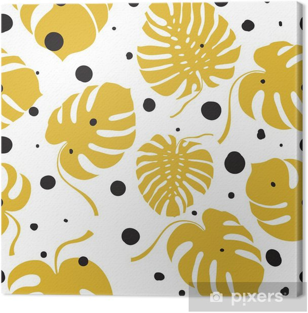 Seamless vector pattern Canvas Print - Graphic Resources