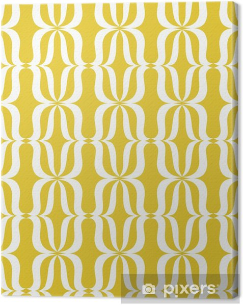seamless vintage pattern Canvas Print - Graphic Resources