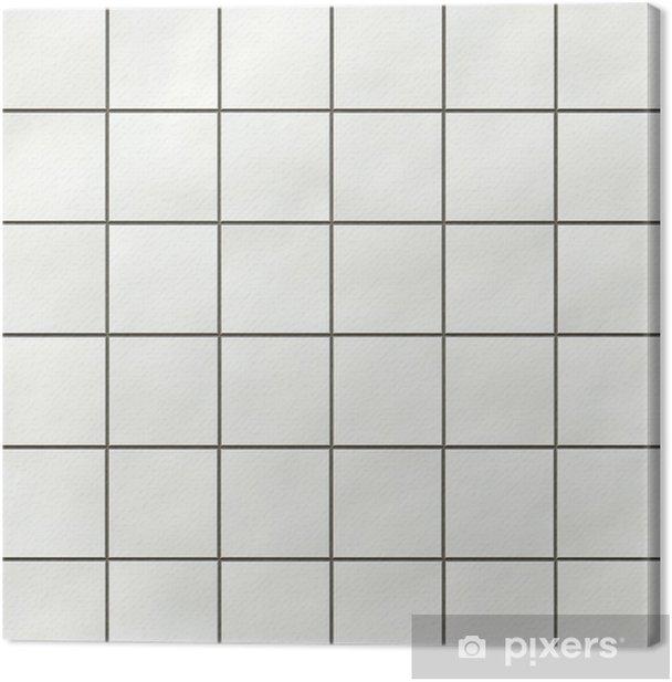 Seamless White Square Tiles Texture