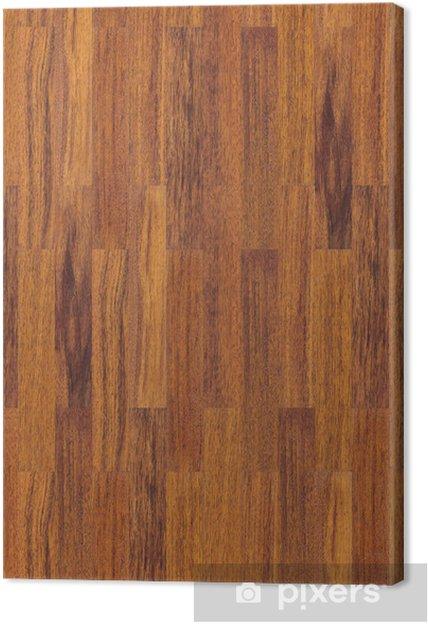 seamless wooden floor texture Canvas Print - Textures