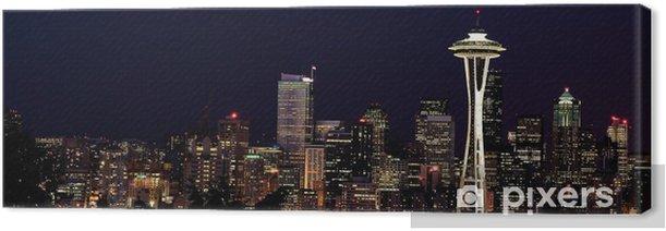 Seattle Downtown Canvas Print - PI-31