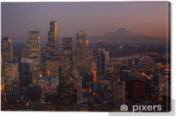 Seattle Washington Canvas Print - America