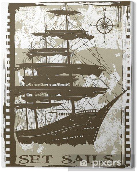Set sails Canvas Print - Boats