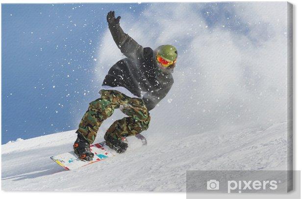 show Canvas Print - Winter Sports