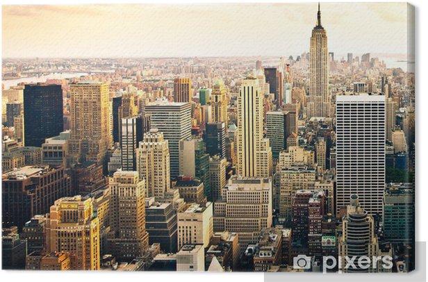 Skyline von New York Canvas Print - Styles