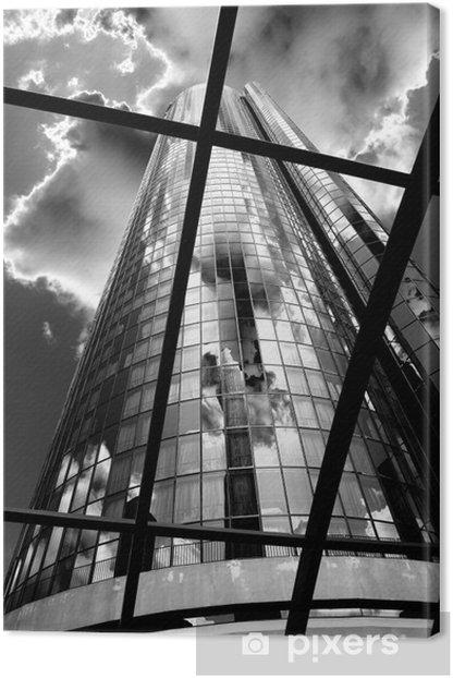 Skyscraper BW Canvas Print - Themes