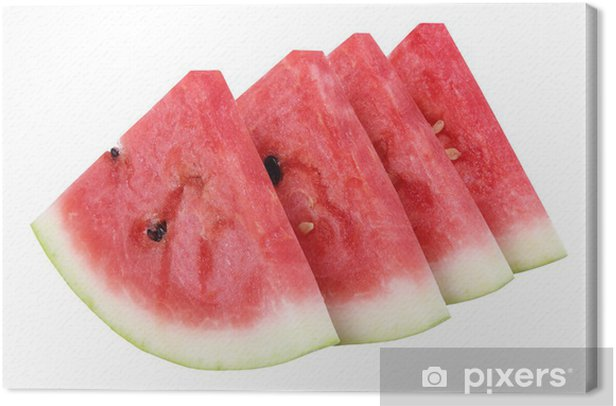 Slices of Watermelon Canvas Print - Fruit