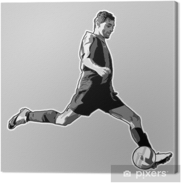 soccer 1 Canvas Print - Sports