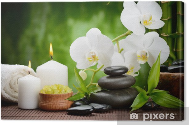spa concept Canvas Print - Styles