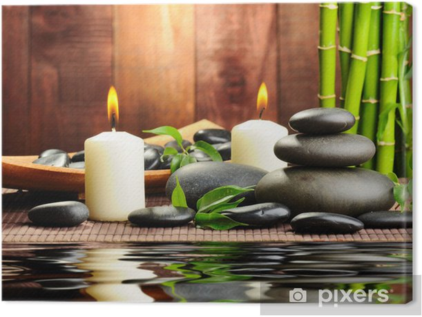 spa concept Canvas Print - Destinations