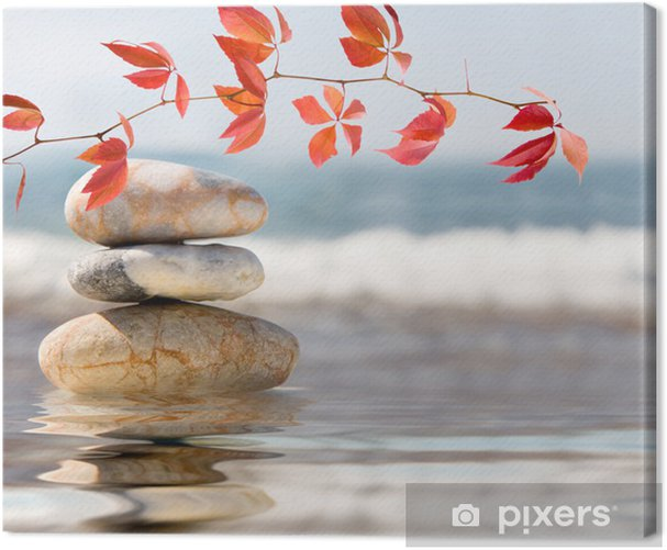 SPA still life on nature Canvas Print - Lifestyle>Body Care and Beauty