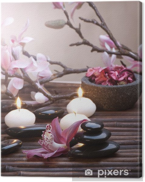 Spa Canvas Print - Lifestyle>Body Care and Beauty