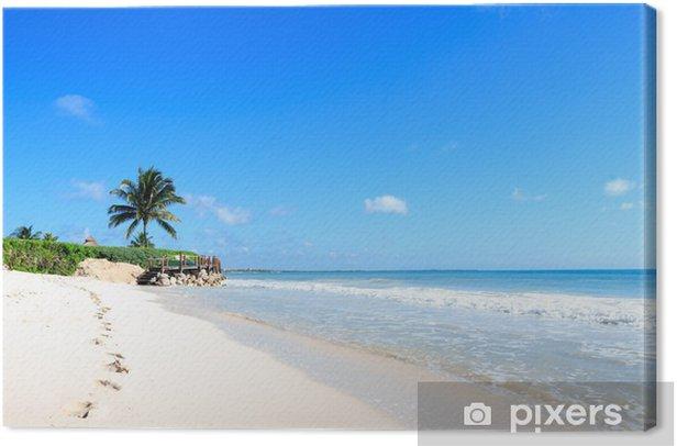 spiaggia messicana Canvas Print - America