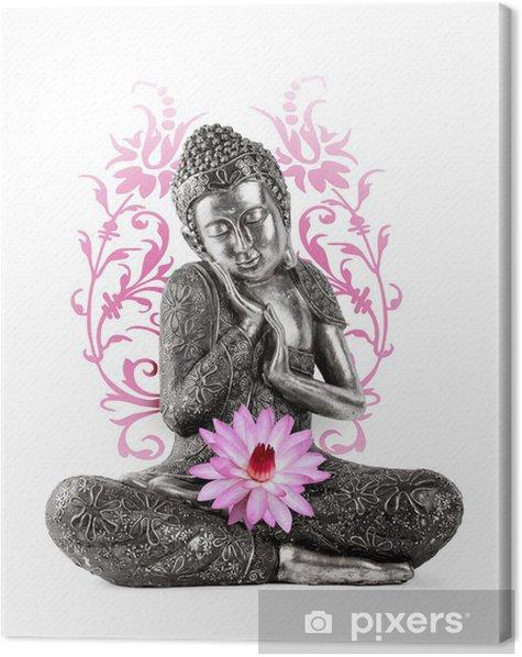 Statue de Bouddha Canvas Print - Wall decals