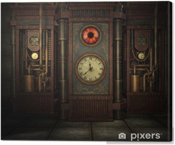 Steampunk Time Canvas Print - Steampunk