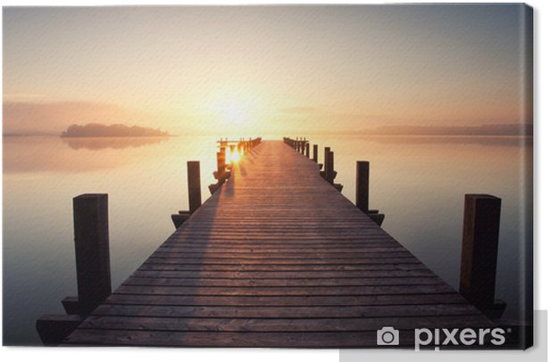 Stille am See Canvas Print - Styles