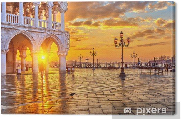 Sunrise in Venice Canvas Print - Themes